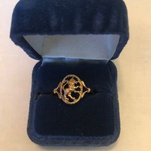 Limited Edition Zodiac Sign (Leo) Ring